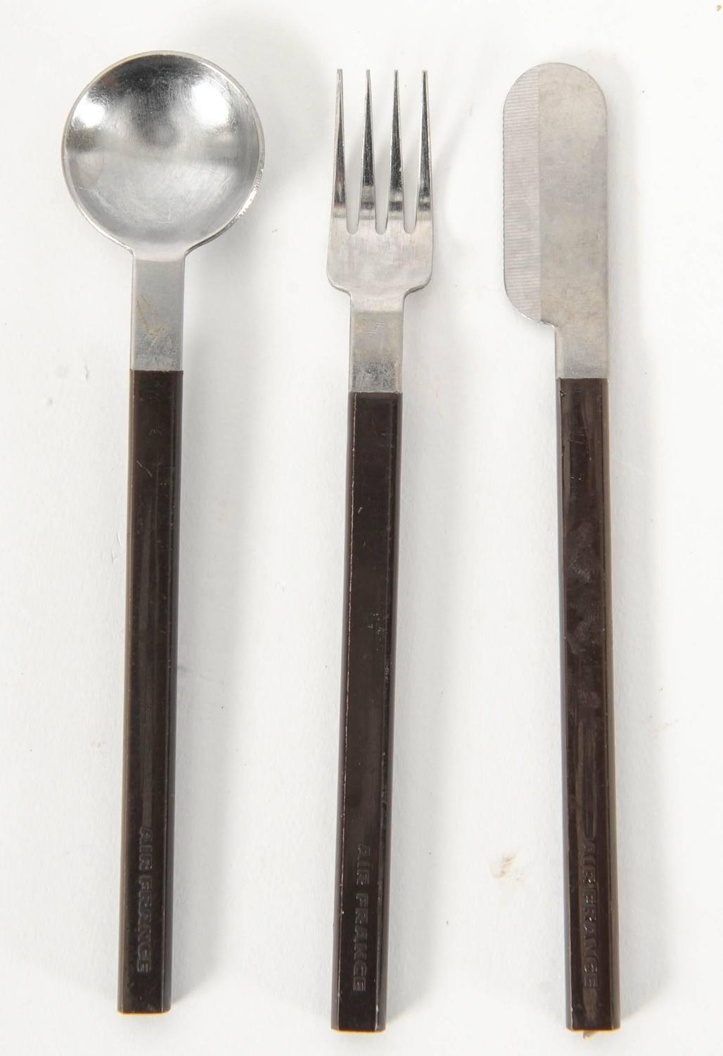 Raymond Loewy Cutlery For Air France Concorde Service At 1stdibs