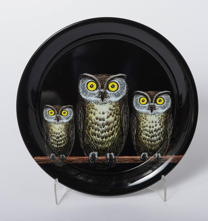 Atelier Fornasetti metal serving tray