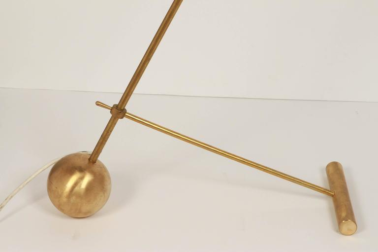Italian Counterweight Floor Lamp At 1stdibs