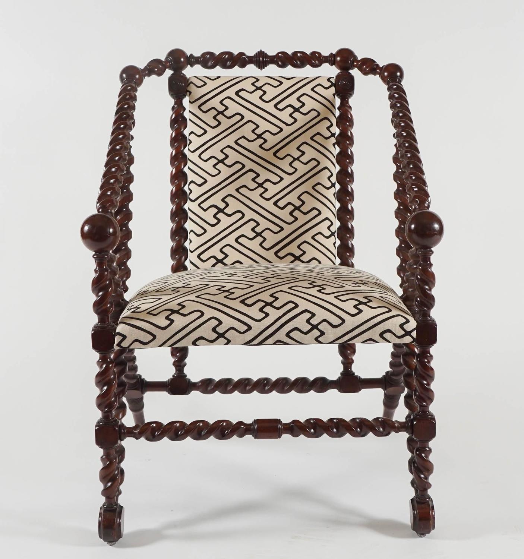 Furniture Sale New York: Mahogany Armchair, George Jakob Hunzinger, New York City