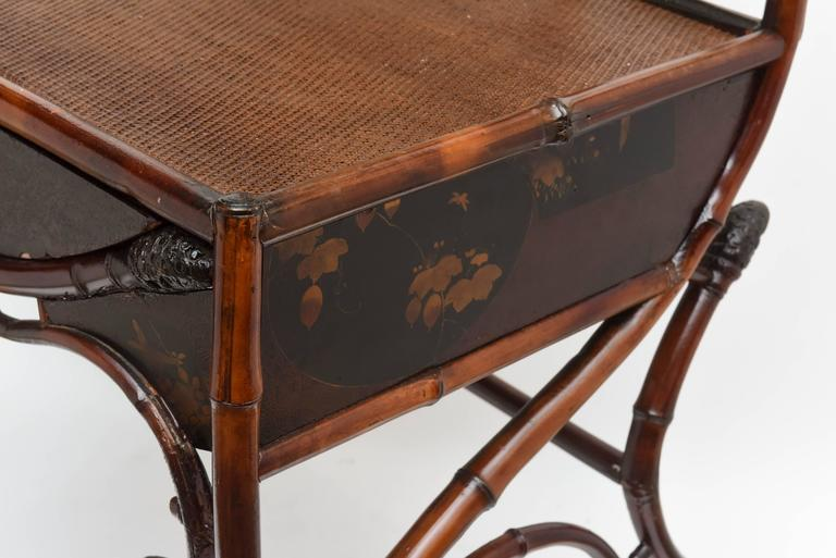 "Fine 19th Century Bamboo Vanity ""Estate of Lilly Pulitzer"" 3"