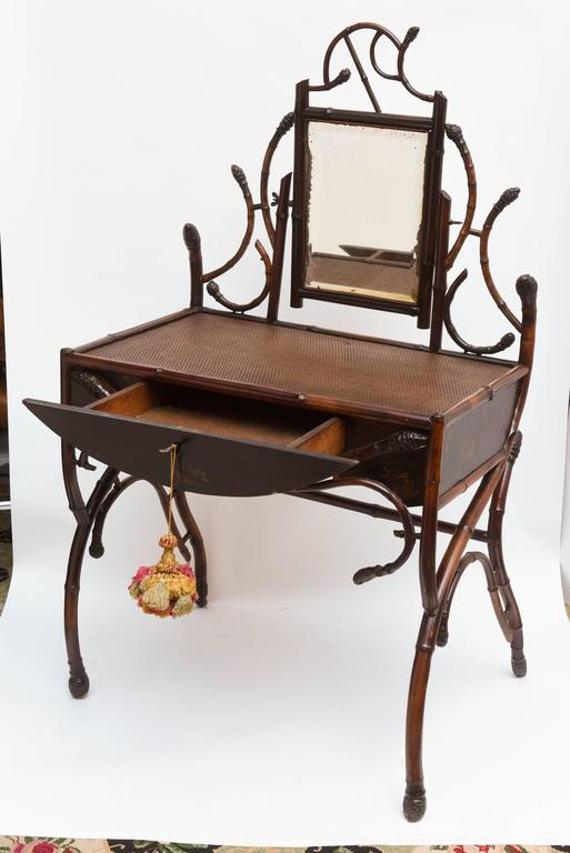 "Fine 19th Century Bamboo Vanity ""Estate of Lilly Pulitzer"" 4"