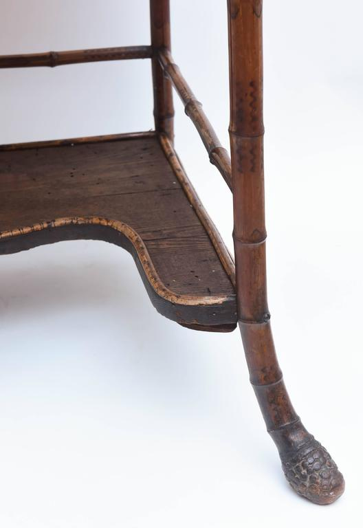 19th Century English Bamboo Desk For Sale 1