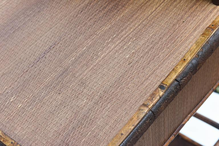 19th Century English Bamboo Desk 7