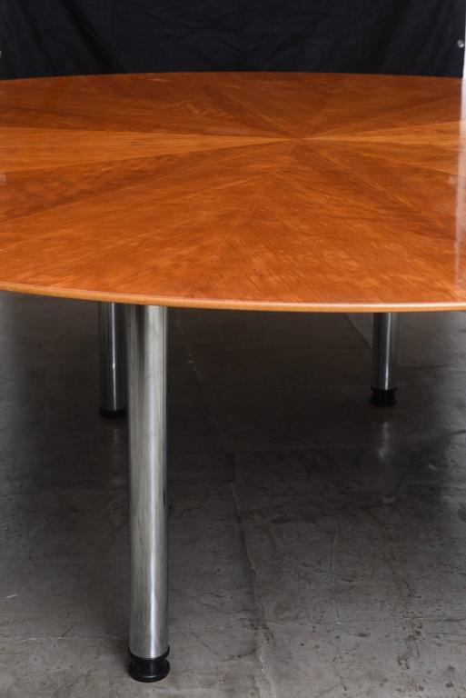 Swedish Circular Large Dining Table Klaus Wettergren  : DSC1852l from www.1stdibs.com size 513 x 768 jpeg 32kB