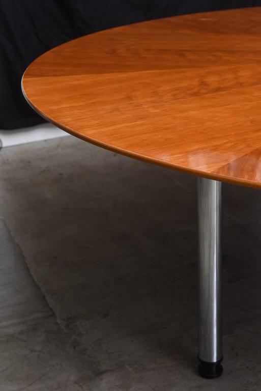 Swedish Circular Large Dining Table Klaus Wettergren  : DSC1856l from www.1stdibs.com size 513 x 768 jpeg 24kB