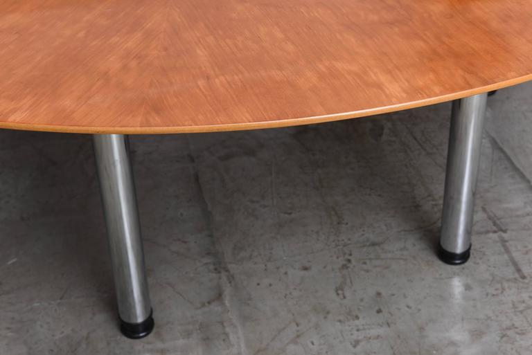 Swedish Circular Large Dining Table Klaus Wettergren  : DSC1858l from www.1stdibs.com size 768 x 513 jpeg 31kB