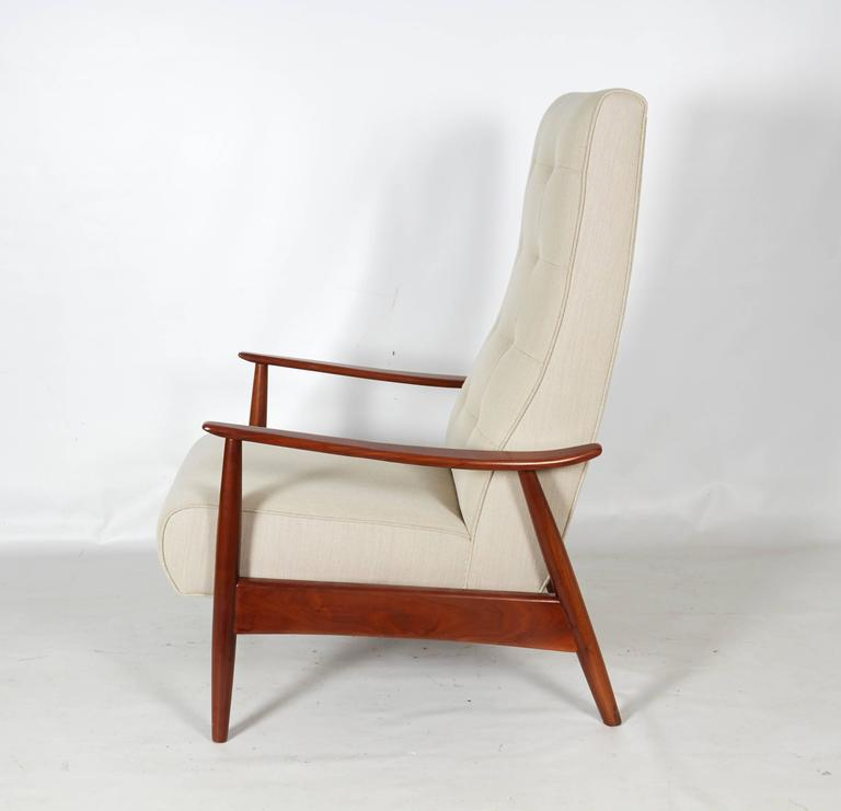 Luxe Lounge Chair Recliner by Milo Baughman for Thayer Coggin at 1stdibs