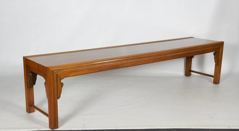 Decorative Modern Coffee Table or Bench by Bert England for Widdicomb 4