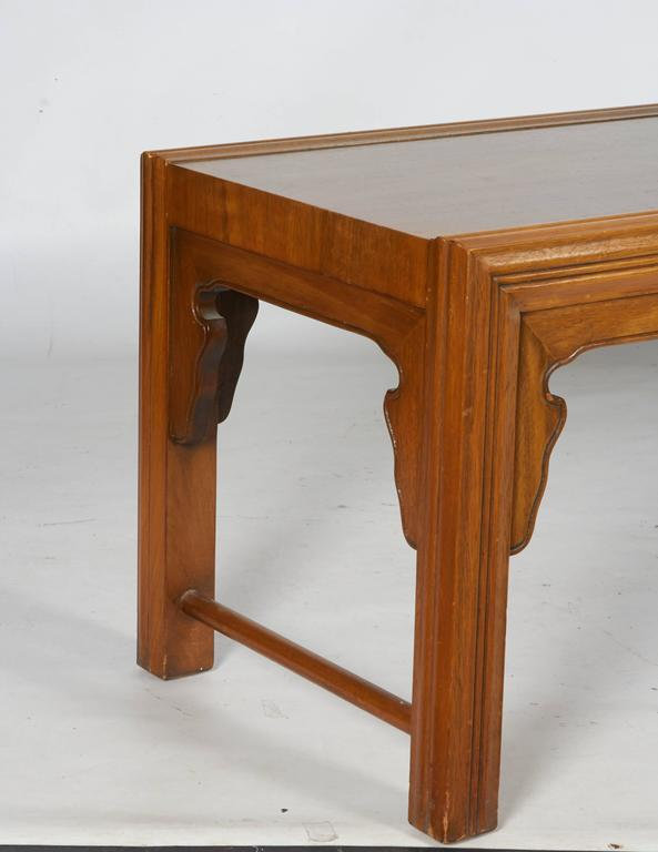 Decorative Modern Coffee Table or Bench by Bert England for Widdicomb 5