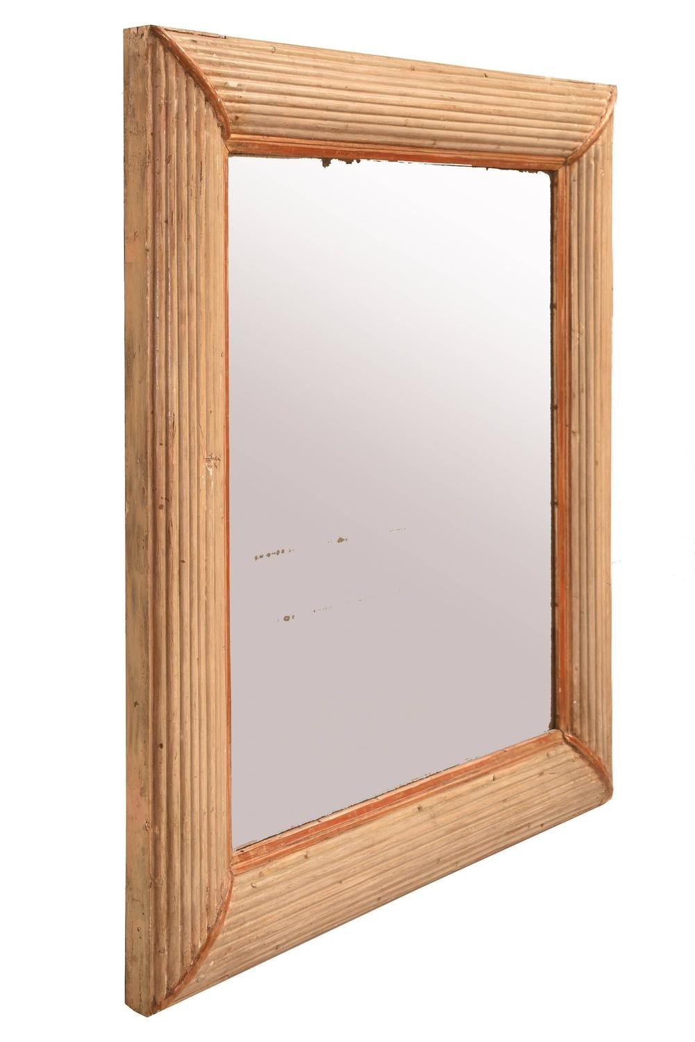 Elegant 19th century french wall mirror for sale at 1stdibs for Elegant mirrors