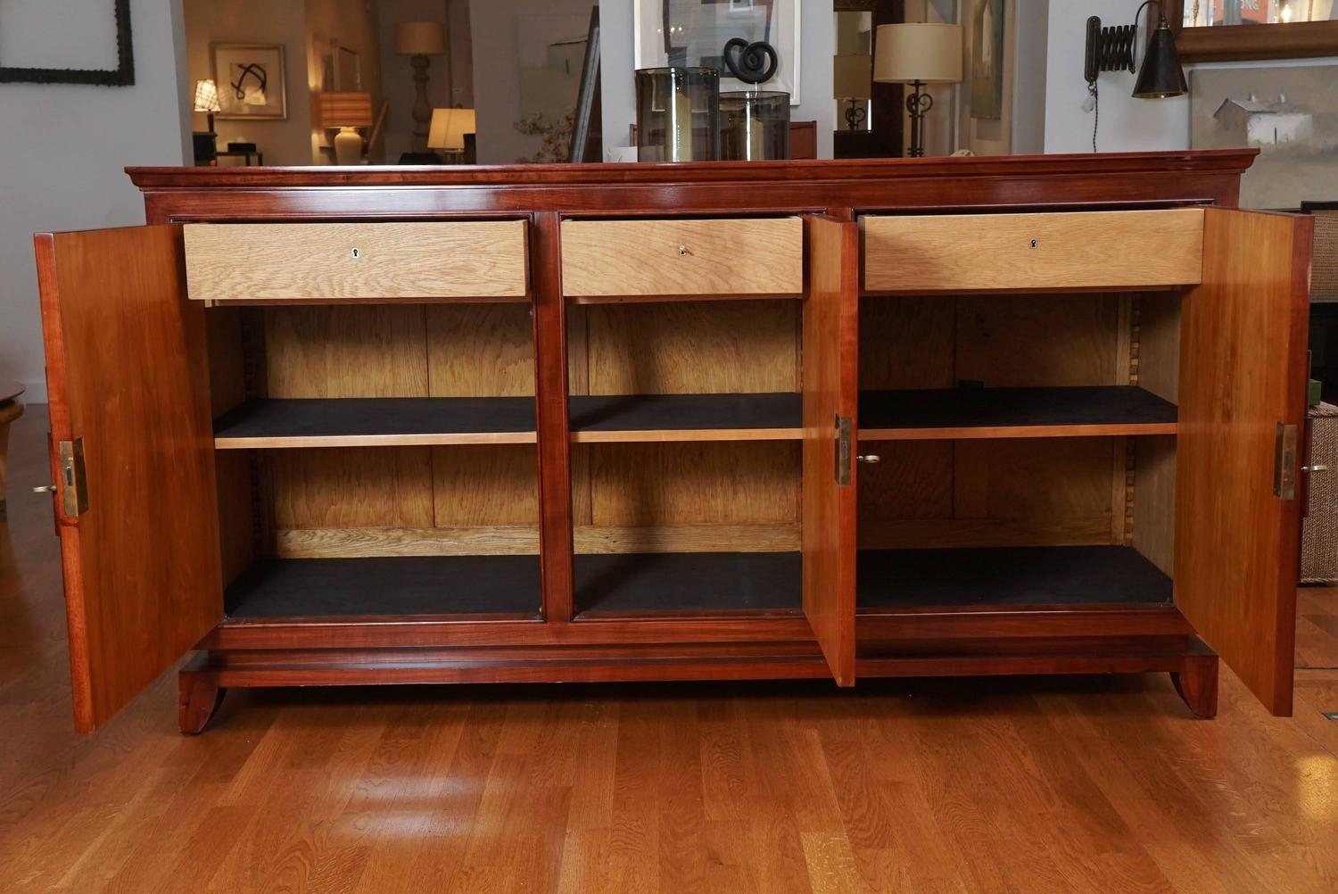 Antique cherry buffet for sale at stdibs