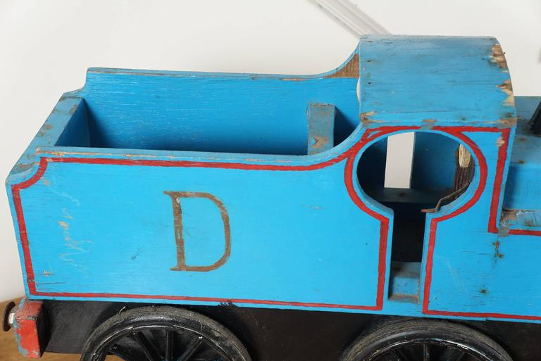 Blue Toy Train For Sale 1