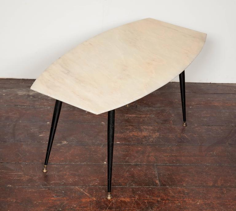 1950 39 S Italian Marble Top Coffee Table For Sale At 1stdibs