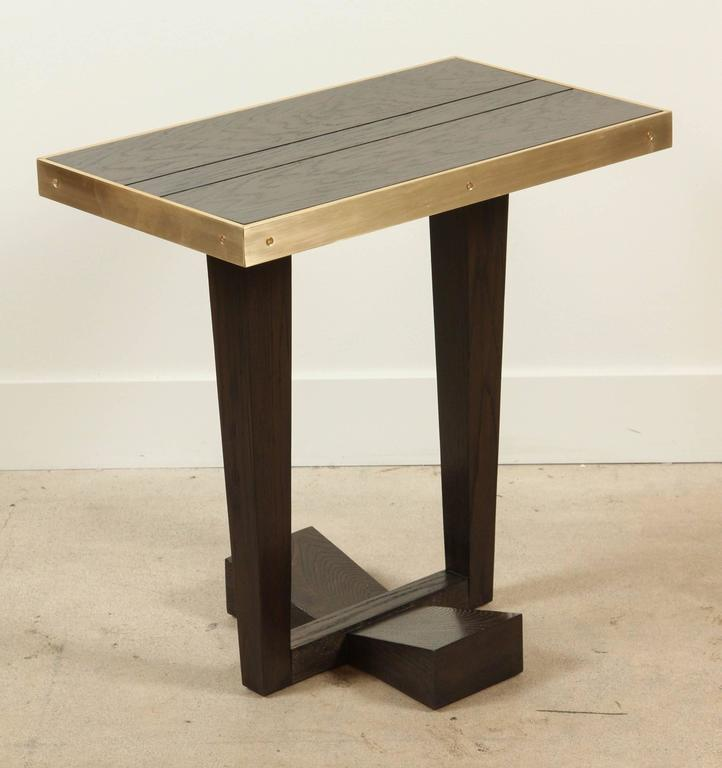 Contemporary Rialto Table by Lawson-Fenning For Sale