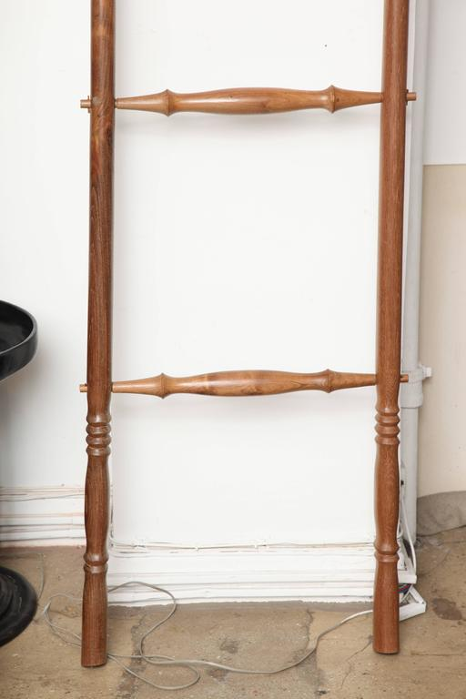 Indonesian Teak Wood Decorative Ladder For Sale