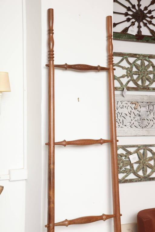 Teak Wood Decorative Ladder For Sale 2