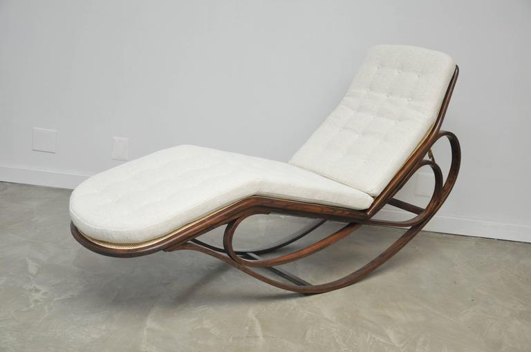 Dunbar Rocking Chaise Lounge by Edward Wormley 2