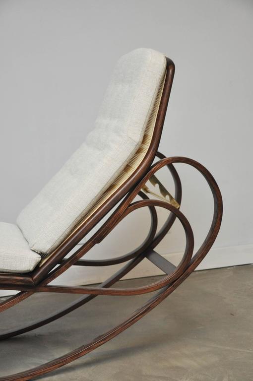Dunbar Rocking Chaise Lounge by Edward Wormley 3
