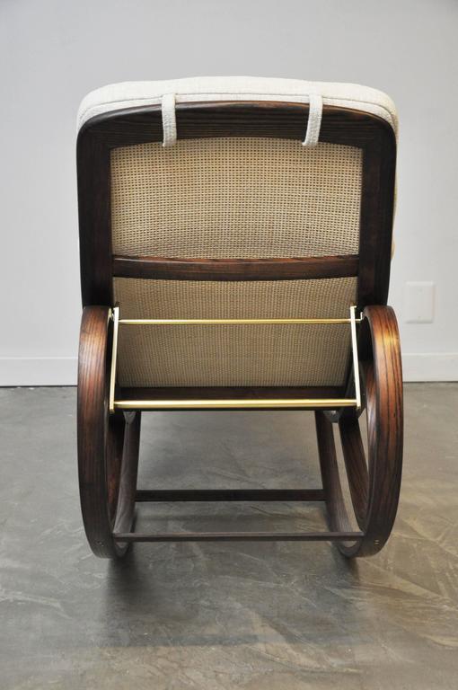 Dunbar Rocking Chaise Lounge by Edward Wormley 8