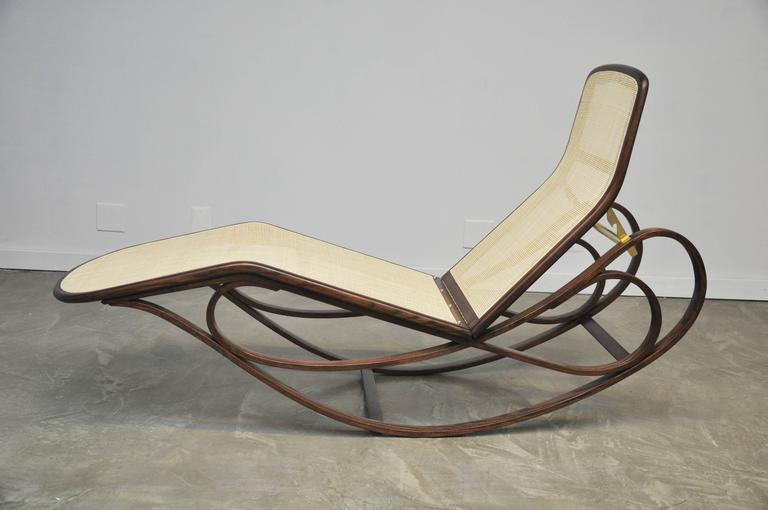 Dunbar Rocking Chaise Lounge by Edward Wormley 9