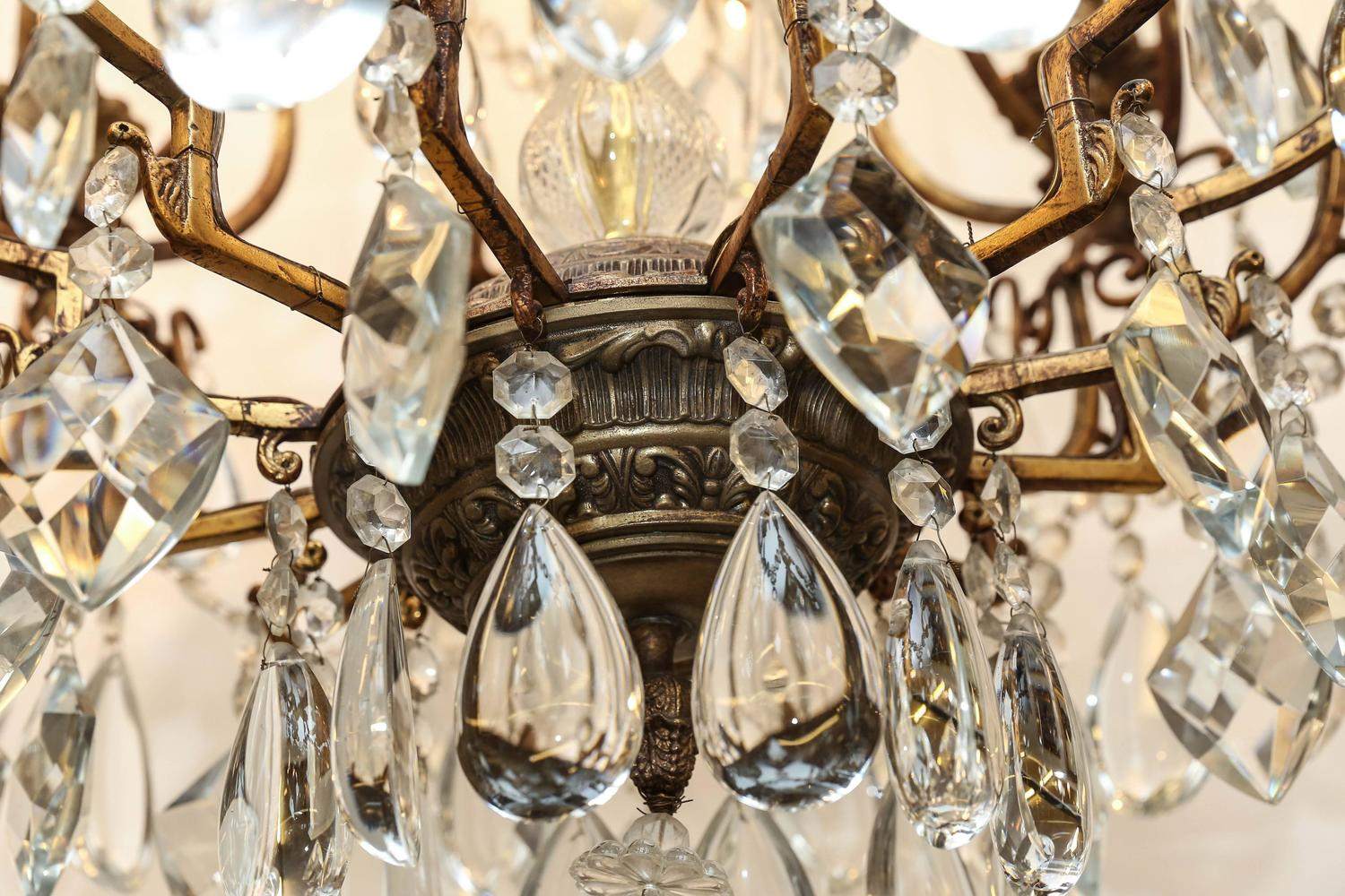 Baccarat Chandelier At 1stdibs
