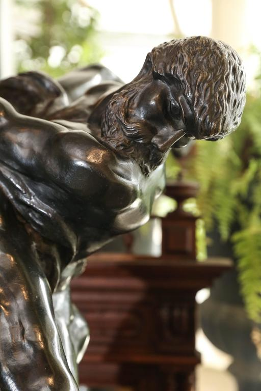 Olympians Bronze Sculpture by Jef Lambeaux In Good Condition For Sale In Houston, TX