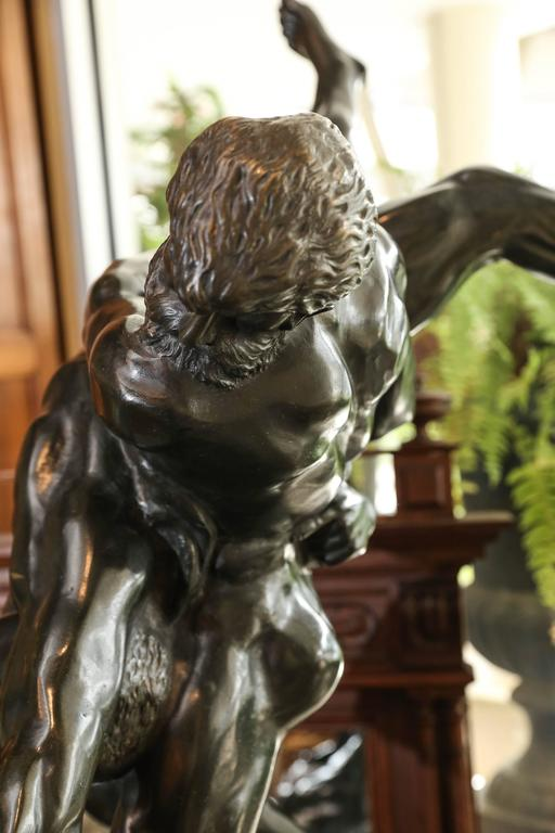 Olympians Bronze Sculpture by Jef Lambeaux For Sale 2
