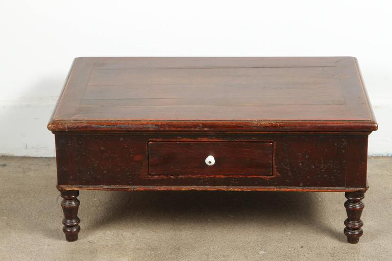 19th Century Victorian Mahogany Dressing Table Mirror with Jewelry Chest For Sale 3