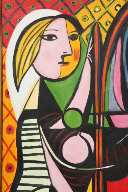 Modern Copy of Picasso Painting,