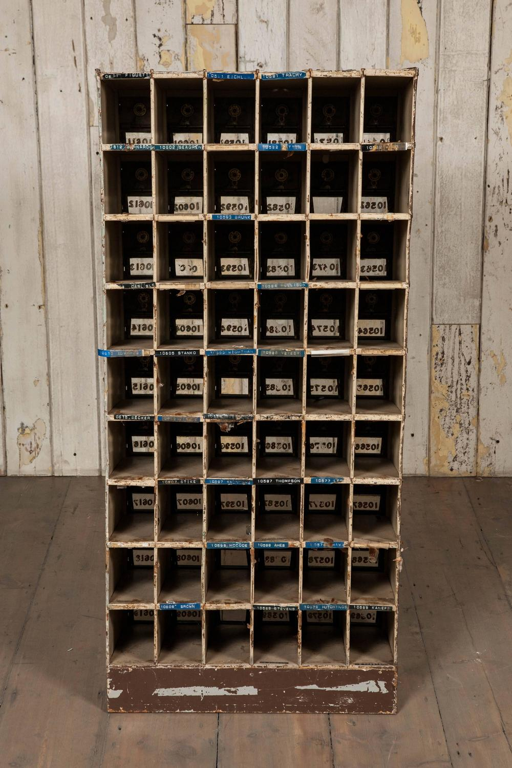 Antique US Post Office Mail Boxes At 1stdibs