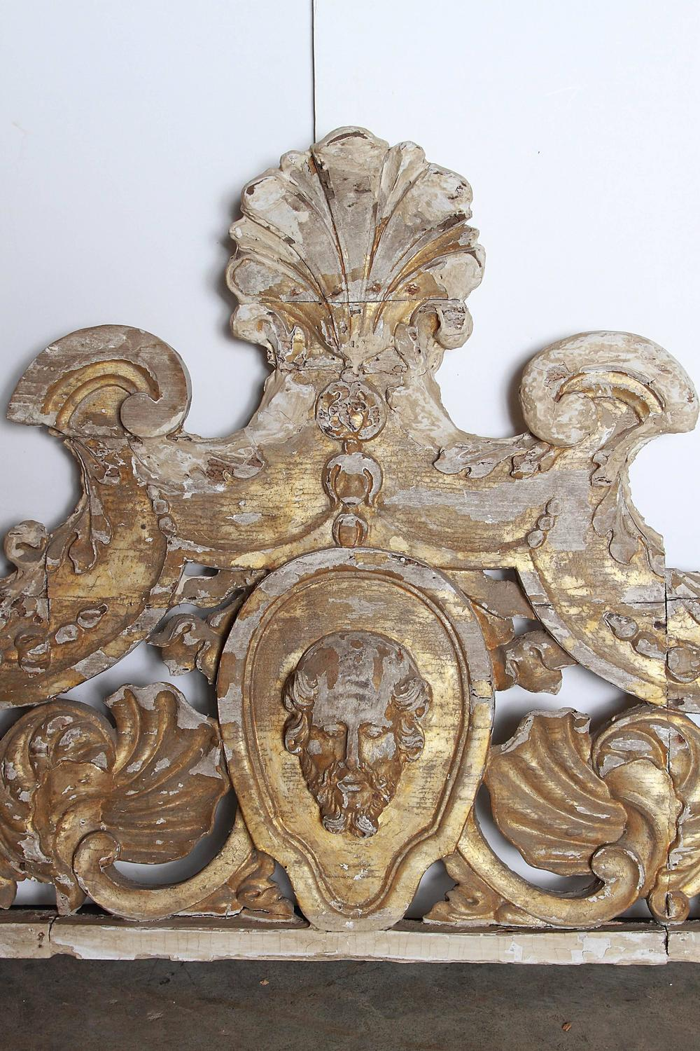 18th century baroque overdoor from sicily at 1stdibs for Baroque architecture elements