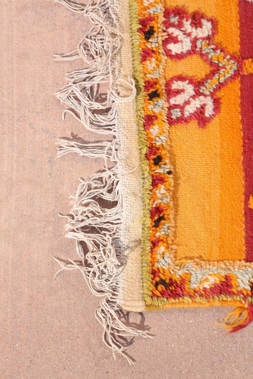 Moroccan Vintage Tribal Rug For Sale 2