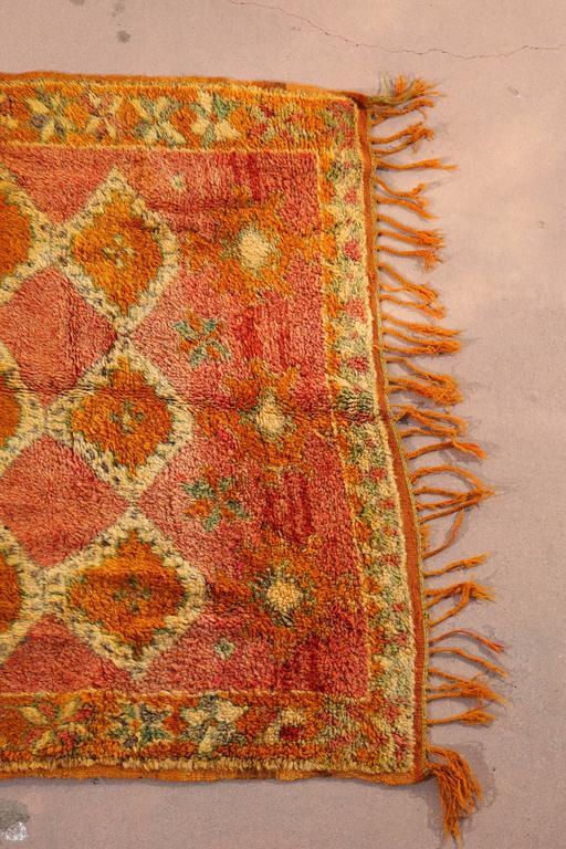 Hand-Woven Moroccan Vintage Berber Rug