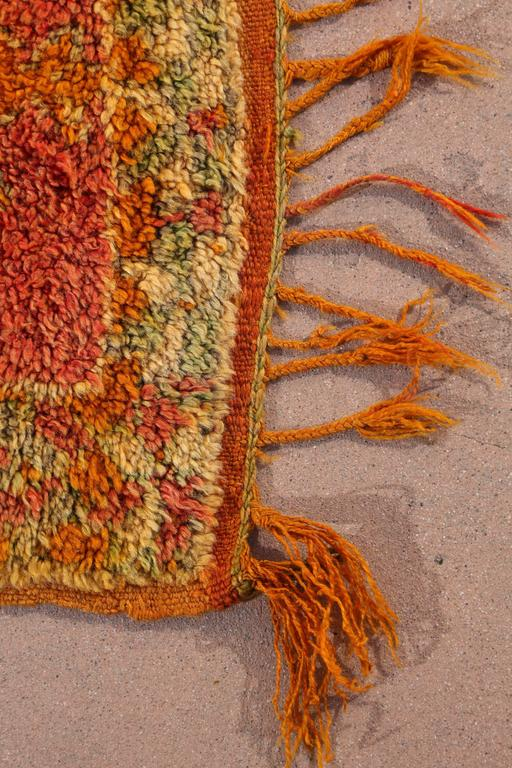 Moroccan Vintage Berber Rug In Excellent Condition In North Hollywood, CA