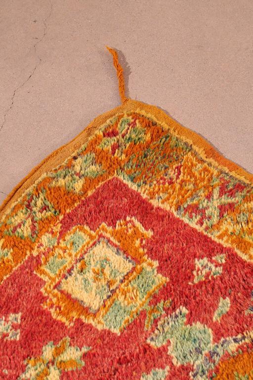 Wool Moroccan Vintage Berber Rug