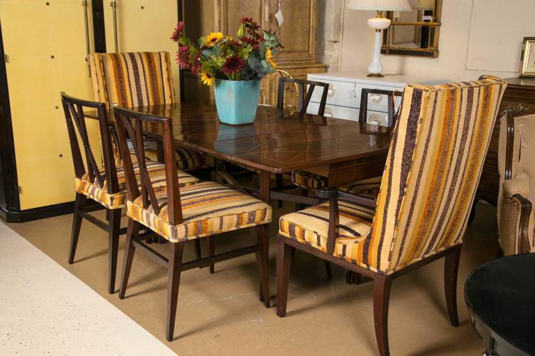 Charak Modern For Tommi Parzinger Drop Side Dining Table At 1stdibs