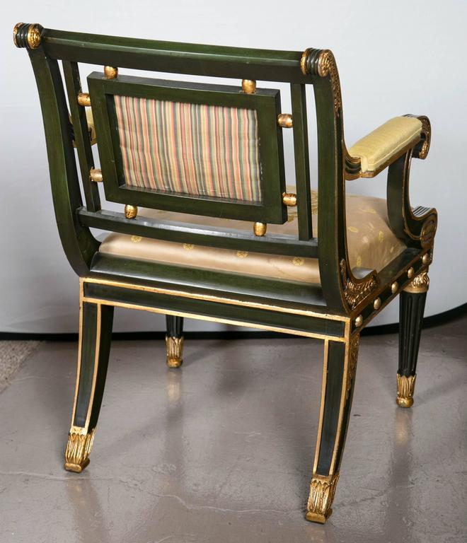 Pair Of Fabulous Russian Neoclassical Style Chairs At 1stdibs