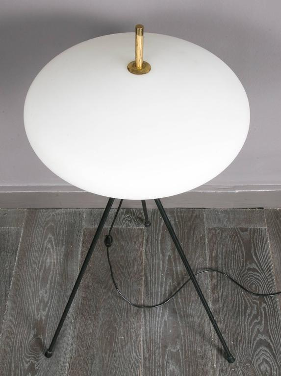 Mid-20th Century Fine Lamp by Arlus For Sale