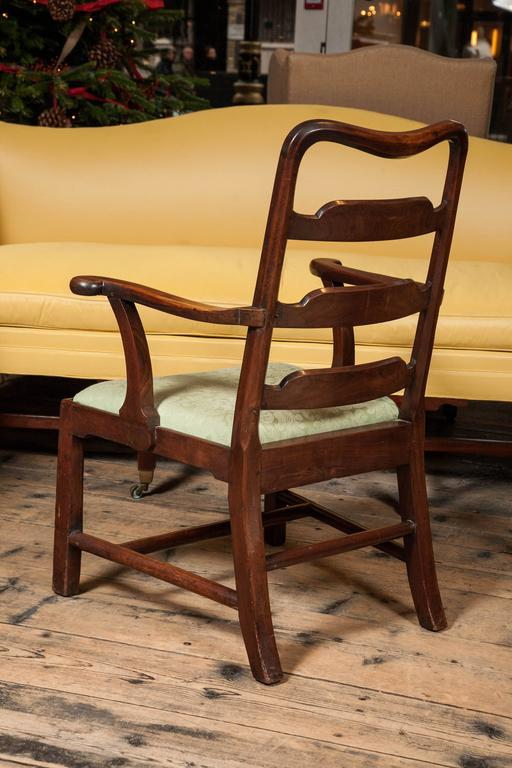 Superb Set of Eight George II Mahogany Dining Chairs For Sale 1