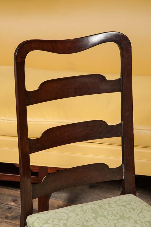Superb Set of Eight George II Mahogany Dining Chairs For Sale 2