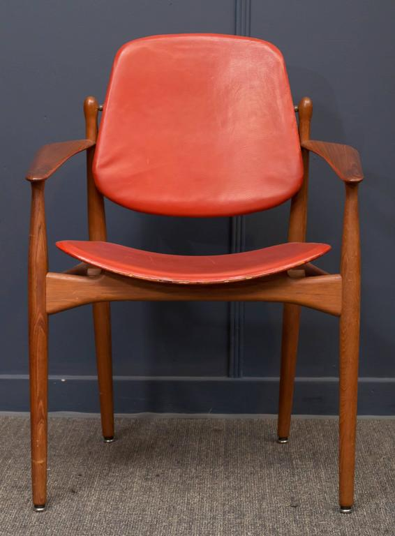 Arne Vodder design armchair model 184 for France & Daverksen, Denmark.