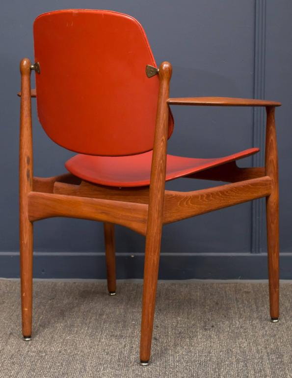 Mid-20th Century Arne Vodder FD-184 Armchair For Sale