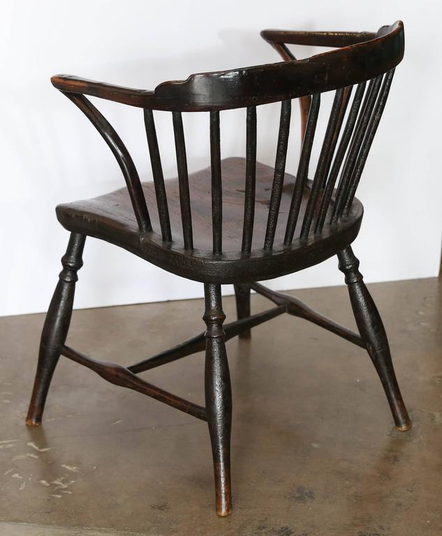 Antique 19th Century Windsor Chair In Excellent Condition For Sale In Houston, TX