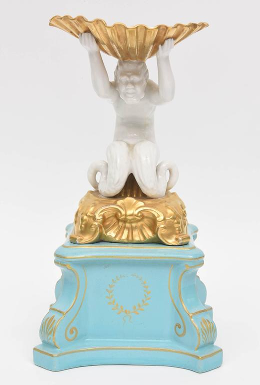 Antique italian centerpiece pieces by ginori figural