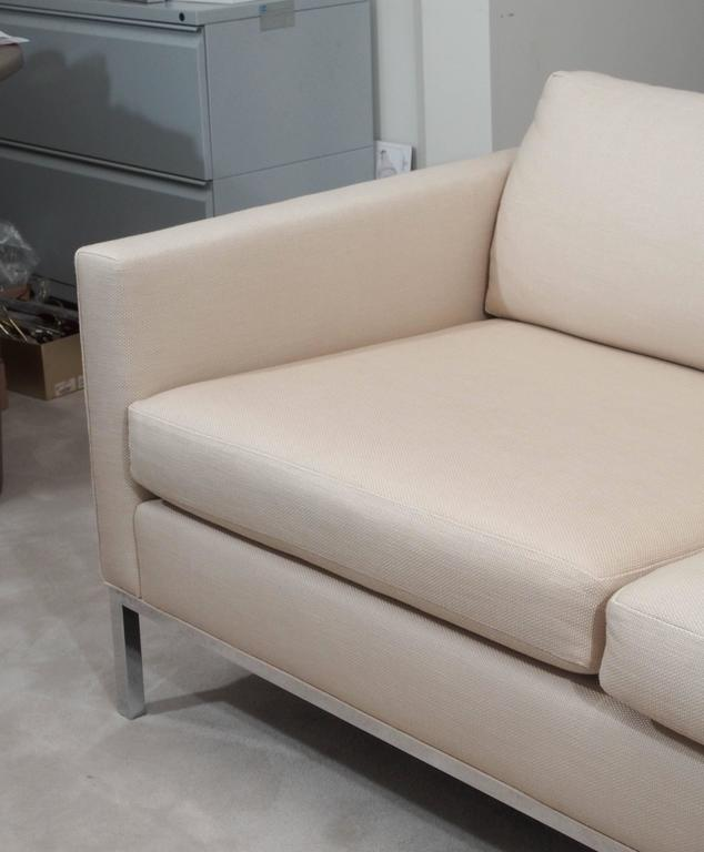 Knoll Style Two-Seat Upholstered Sofa 2