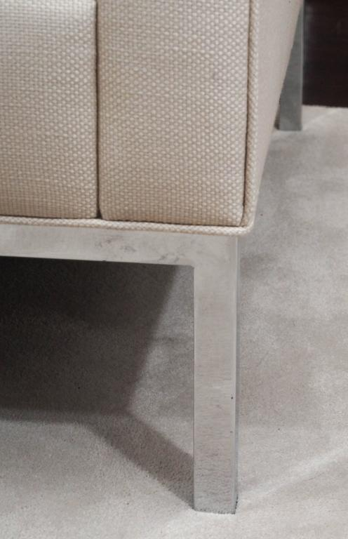 Knoll Style Two-Seat Upholstered Sofa 3
