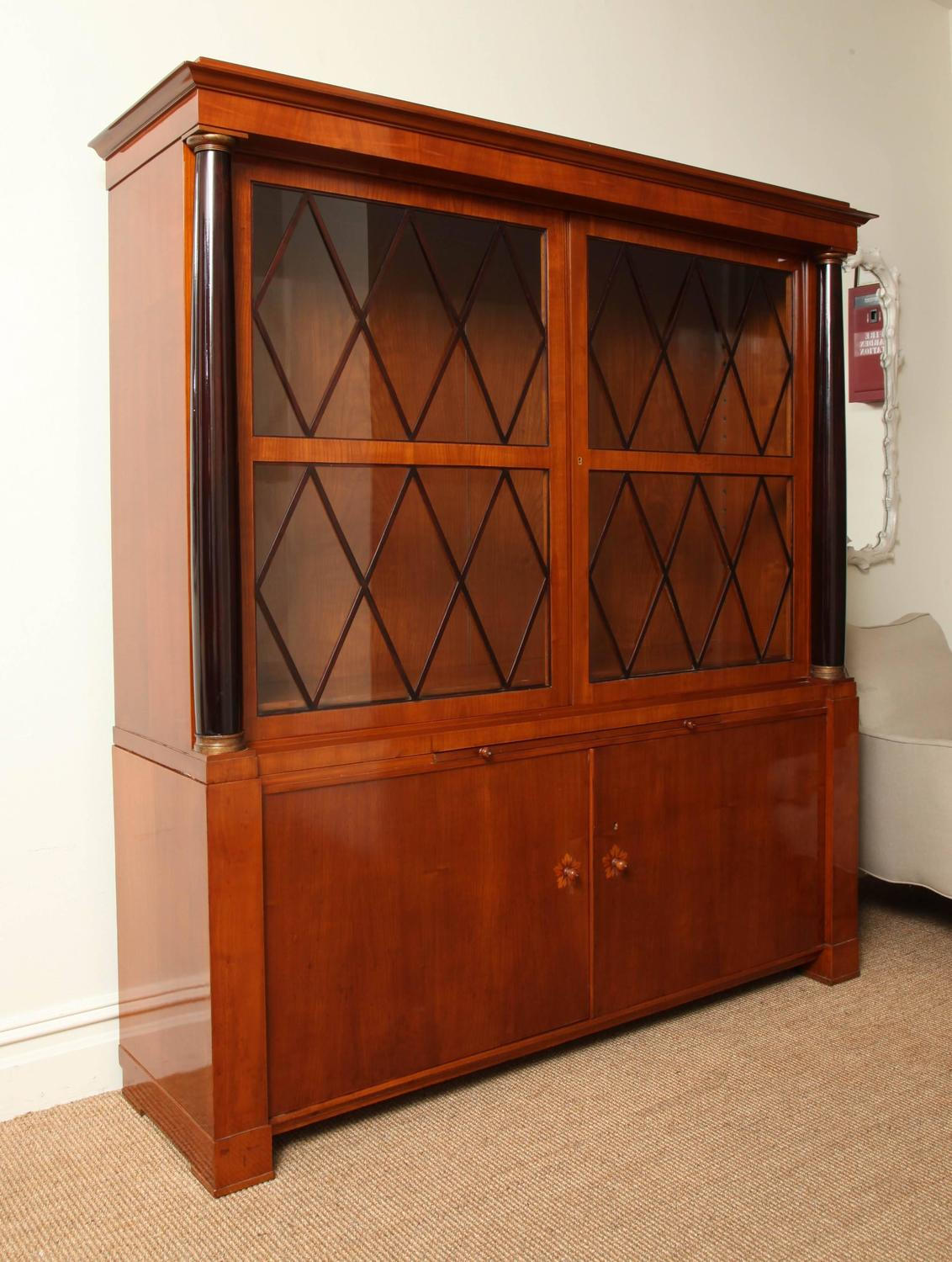 Deutsche Wk M Bel Library Cabinet Germany Circa 1920 For