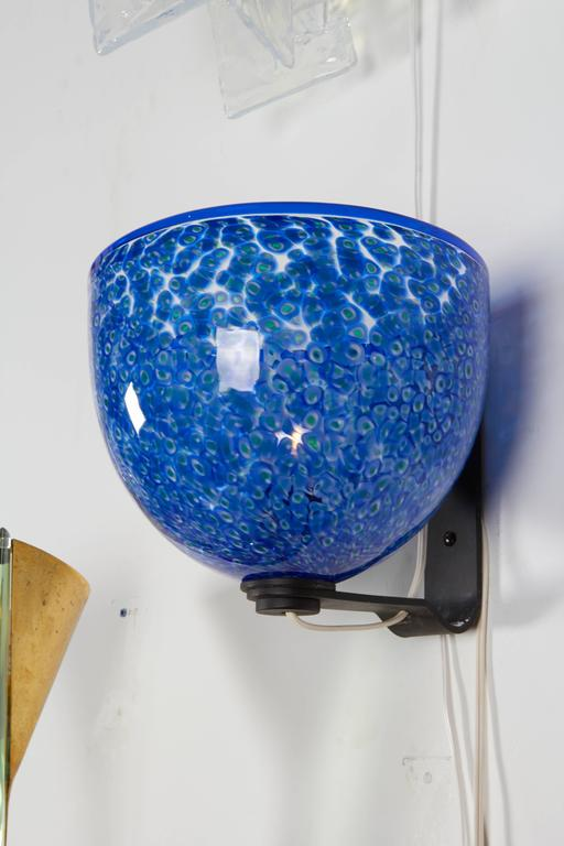 Mid-20th Century Exceptional Murano Glass Sconce For Sale