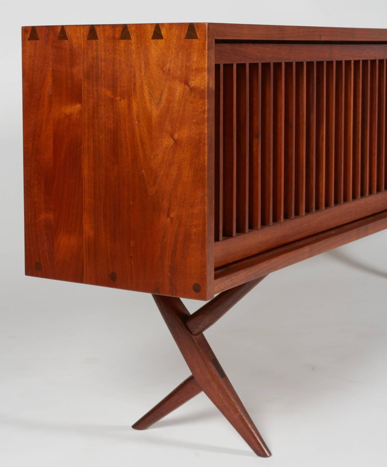 Rare and Exceptional George Nakashima Cabinet For Sale at